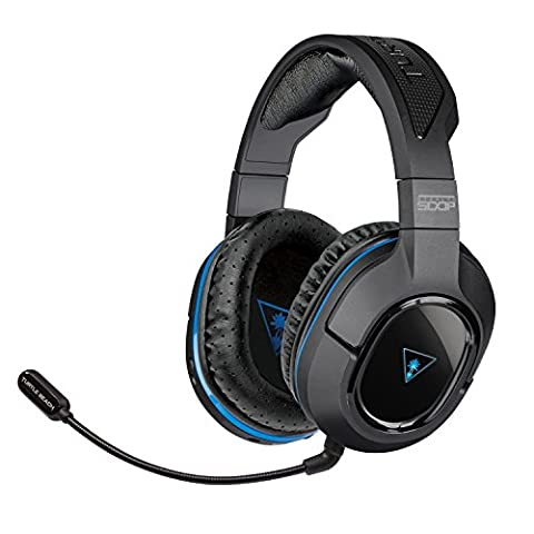 Turtle Beach - Ear Force Stealth 500P Premium Fully Wireless Gaming Headset - DTS Headphone:X 7.1 Surround Sound - PS4, PS3, and Mobile Devices