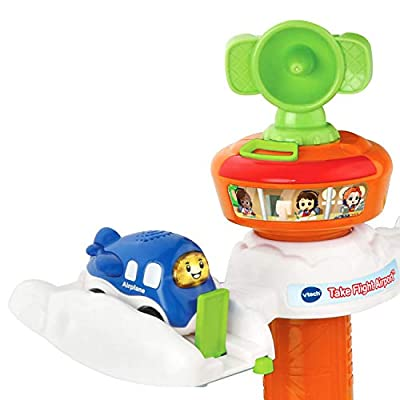 VTech Go! Go! Smart Wheels Take Flight Airport: Toys & Games
