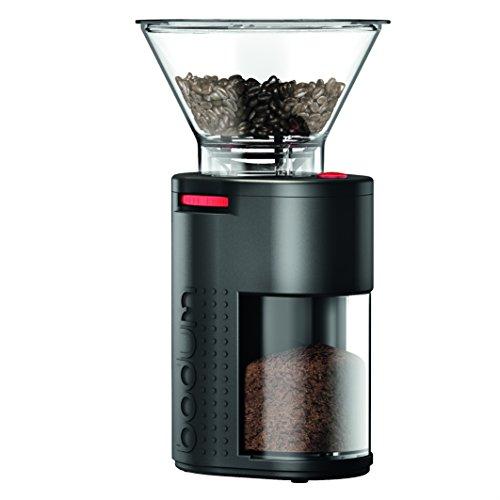 Bodum 11750-01US Bistro Burr Coffee Grinder, One Size, Black