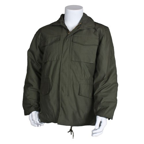 Fox Outdoor Products M65 Field Jacket with Liner, Olive Drab, Small