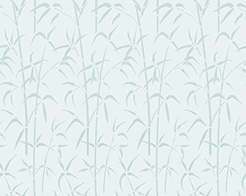 d-c-fix Privacy Glass Reusable Static Cling Window Film, Bamboo, 26