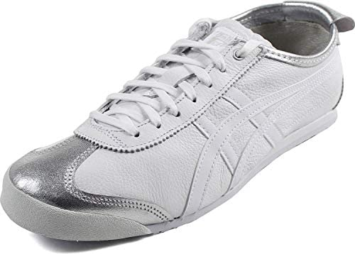 separation shoes 74d84 fd4a1 Onitsuka Tiger by Asics Unisex Mexico 66 Silver/White 14 M ...