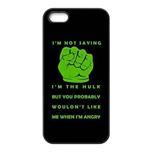 The Hulk Design Solid Rubber Customized Cover Case for iPhone 5 5s 5s-linda337