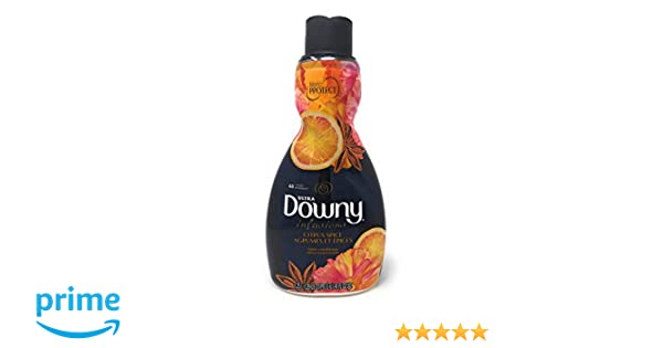 Amazon.com: Downy Ultra Infusions Citrus Spice Liquid Fabric Softener 41 oz (Pack of 2): Health & Personal Care