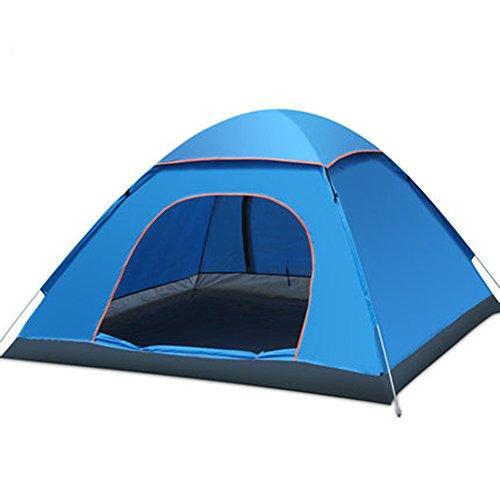 メモ管理するもっと少なくマ?チョン テント 屋外テントダブルその他の人物ダブルドア自動テントダブルキャンプキャンプ