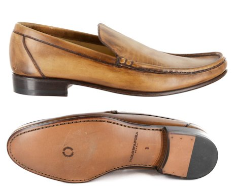 New Paolo Scafora Caramel Brown Shoes 6.5/5.5 tXGbf