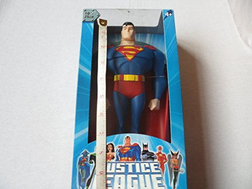 DC Superheroes Year 2003 Justice League 10 Inch Tall Action Figure - SUPERMAN