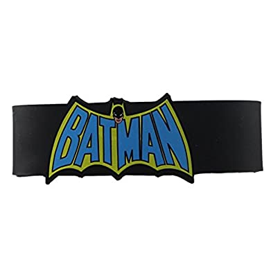 Batman Comics Batman Cape Logo Rubber Wristband Estimated Price £6.14 - £15.95