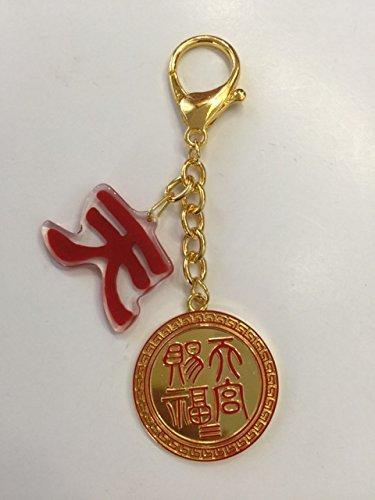 Mylucky15610 Feng Shui Heaven Seal Activator Amulet Keychain