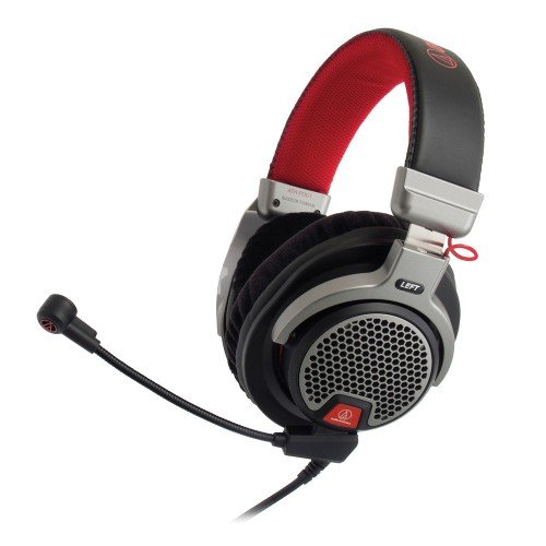 Audio-Technica ATH-PDG1 Open-Air Premium Gaming Headset with 6'' Boom Microphone by Audio-Technica