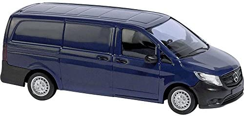 Busch 51107 MB Vito Blue HO Scale Model Vehicle