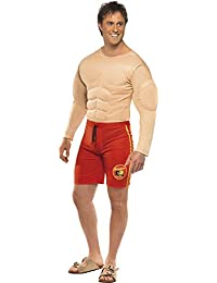 Baywatch Lifeguard Adult Costume - Large