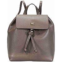 Michael Kors Junie Medium Pebbled Leather Backpack (Multi Colors)