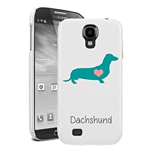 SudysAccessories Dachshund Dog Samsung Galaxy S4 case S IV Case i9500 - SoftShell Full Plastic Snap On Graphic Case