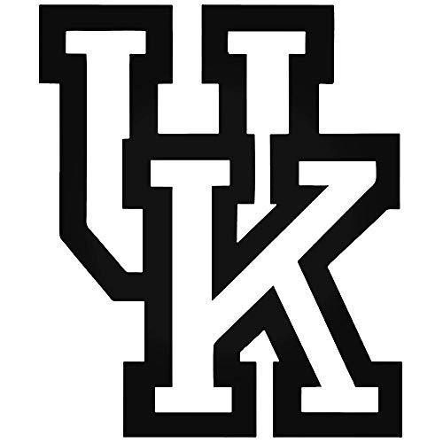 YWS Vinyl Sticker Decal - University of Kentucky Wildcats 050 - Sticker Laptop Car Truck Window Bumper Notebook Vinyl ()