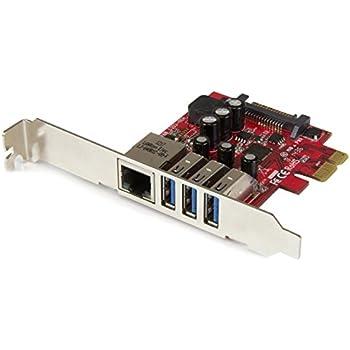 Amazon.com: StarTech.com 4 Port PCI Express USB 3.0 Card - 2 ...