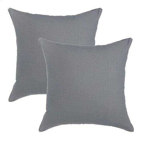 YOUR SMILE - 100% Cotton Decorative Throw Pillow Case 18x18
