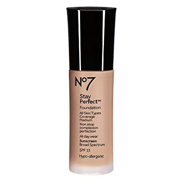 8a774639b92 Amazon.com : Boots No7 Stay Perfect Foundation (Cool Beige) : Beauty