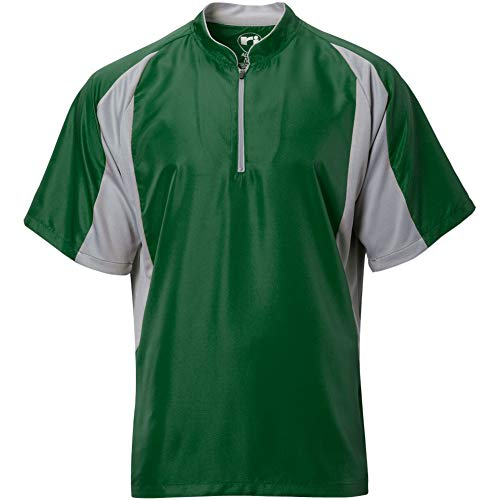 Wire2wire Mens Performance Short Sleeve Cage Jacket Green/Grey XL