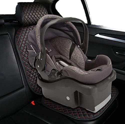 Auto Sitzkissen Vordersitze Vier Jahreszeit Universal Anti-Rutsch Sitzauflagen Auto Fahrersitz mit R/ückenlehne PU Leder Sitzauflage 2PC Big Ant Sitzauflage Auto