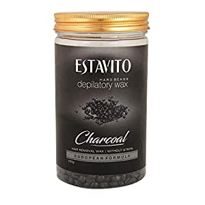 Estavito White chocolate Hard Beans Depilatory Stripless Wax 225 gm | Used for Upper lips, Arms, Legs, Full Body |