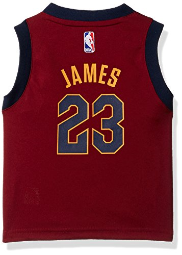 Jersey Road Replica Nba (Outerstuff NBA Cleveland Cavaliers Children Boys Replica Road Player Jersey, 3T, Burgundy)