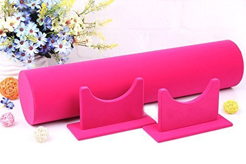 Funi Velvet Hairband Headband Holder Retail Shop Display Stand Rack Holder (14'', Pink) by Funi (Image #2)