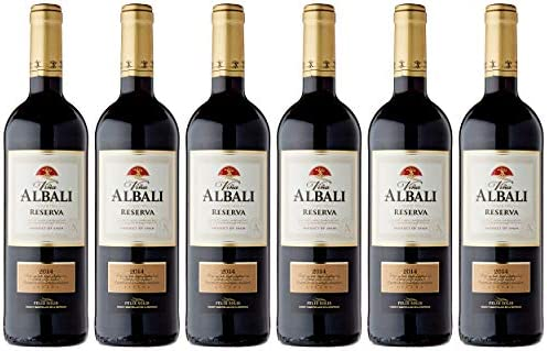 Viña Albali - Reserva Botella 75 cl DOPValdepeñas - Pack de 6 Botellas