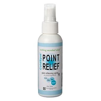 Point Relief 11-0701-1 ColdSpot Spray, 4 oz Bottle