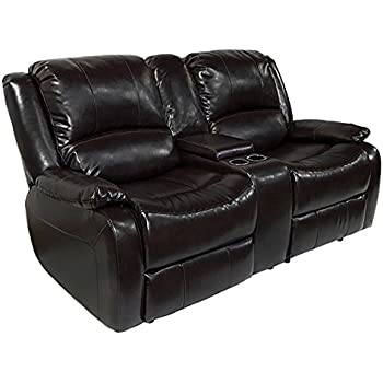 RecPro Charles 67  Double RV Zero Wall Hugger Recliner Sofa w/ Console Espresso  sc 1 st  Amazon.com & Amazon.com: RecPro Charles 67