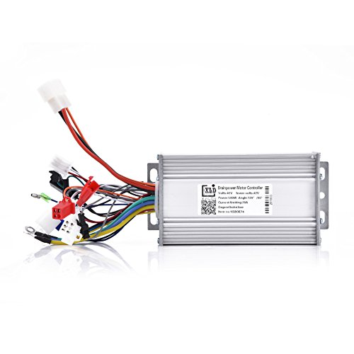(Dilwe Brushless Speed Controller, 48V 500W Motor Speed Brushless Controller for Electrical Scooter Bicycle)