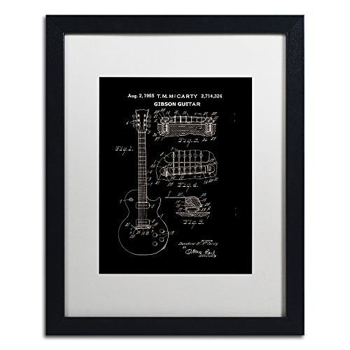 electric guitar drawing - 5