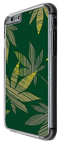 1488 - Cool Fun Trendy weed rasta smoking marjauna jamaican Design iphone 6 Plus / iphone 6 Plus S 5.5'' Coque Fashion Trend Case Coque Protection Cover plastique et métal - Clear