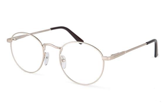 5b249f4fff0d SmartBuy Collection Morgan Unisex Prescription Eyeglass Frames - Full Rim  Round Designer Glasses Frame - Morgan