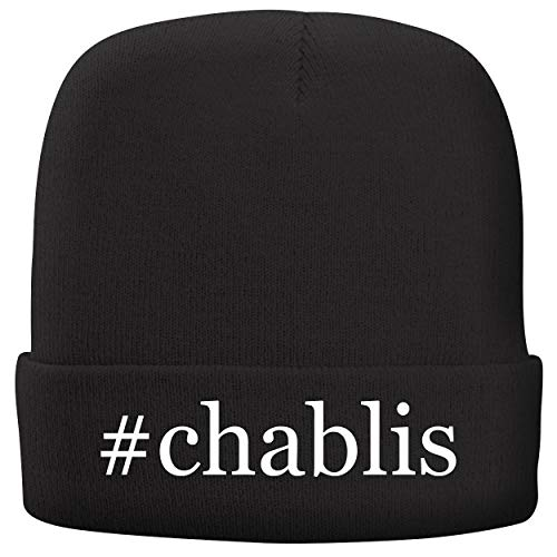 BH Cool Designs #Chablis - Adult Hashtag Comfortable Fleece Lined Beanie, ()