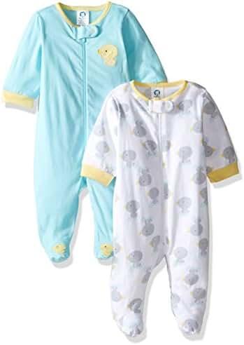 Gerber Baby 2 Pack Zip Front Sleep 'n Play