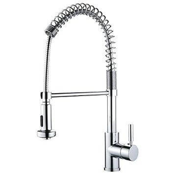 Miseno MK281 Cardini Commercial Style Pre-Rinse Kitchen Faucet ...