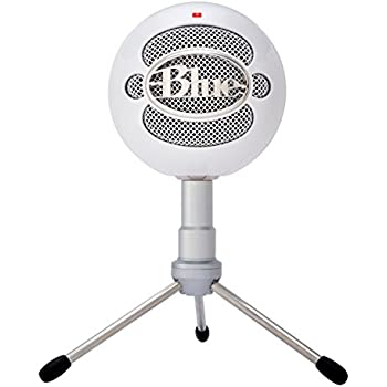 Amazon Com Blue Snowball Ice Condenser Microphone