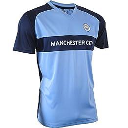 Manchester City F.C - Mac-Sa-3200 - Maillot Manches Courtes - Mixte Adulte