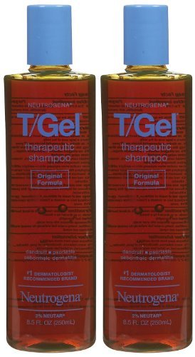 Neutrogena T/Gel Therapeutic Shampoo, Original Formula - 8.5 oz - 2 pk
