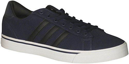 adidas Men's Shoes | Cloudfoam Super Daily Fashion Sneakers, Collegiate Navy/Black/White, (11.5 M US)