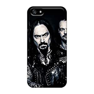 Excellent Hard Phone Cases For Apple Iphone 5/5s With Custom Fashion Amorphis Band Series Casecover88