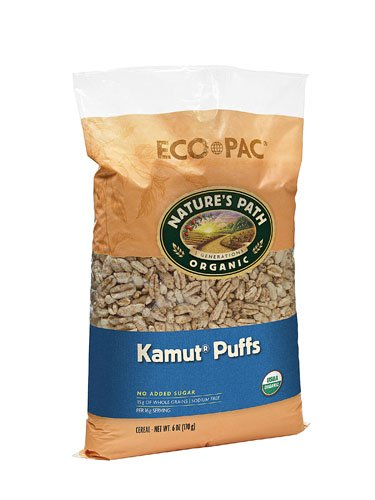 - Nature's Path Organic Kamut Puffs Cereal -- 6 oz - 2 pc