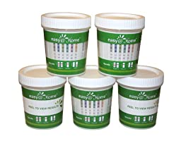 15 Pk #ECDOA-1144A3 Easy@home 14 panel Instant Drug Test Cup Testing 14 Different Drugs w/ 3 adulterations and temperature strips. Tests AMP, BAR,BZO,COC,THC,MTD,MET,MDMA,OPI 2000,PCP,TCA,BUP,OXY,PPX