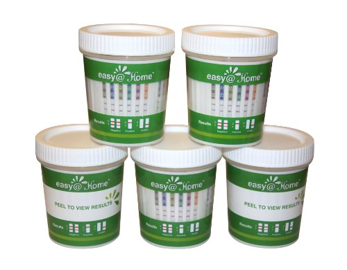 25 Pack #ECDOA-1144A3 Easy@home 14 panel Instant Drug Test Cup Testing 14 Different Drugs w/ 3 adulterations and temperature strips. Tests AMP,BAR,BZO,COC,THC,MTD,MET,MDMA,OPI 2000,PCP,TCA,BUP,OXY,PPX by Easy@Home (Image #9)