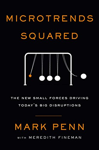 Book Cover: Microtrends Squared: The New Small Forces Driving the Big Disruptions Today