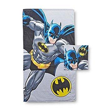 DC Comics Batman Kids Towel & Washcloth Set