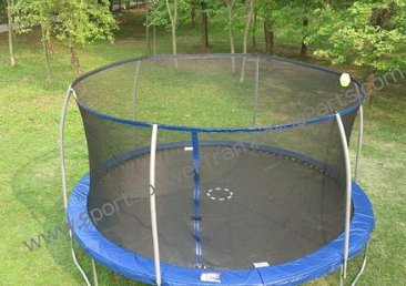 Trampoline Enclosure Mesh Net ONLY for 15' Sportspower Model TR-156COM-FLX-  OEM Equipment