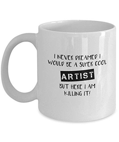 Artist 11 Oz White Mug - 7