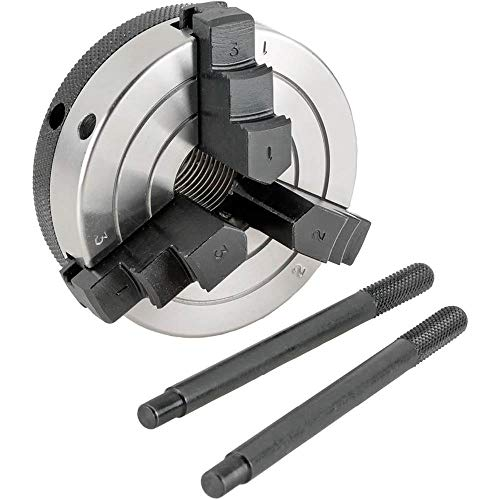 (Grizzly H8035 3-Inch 3-Jaw Wood Chuck, 1-Inch by 12 TPI)